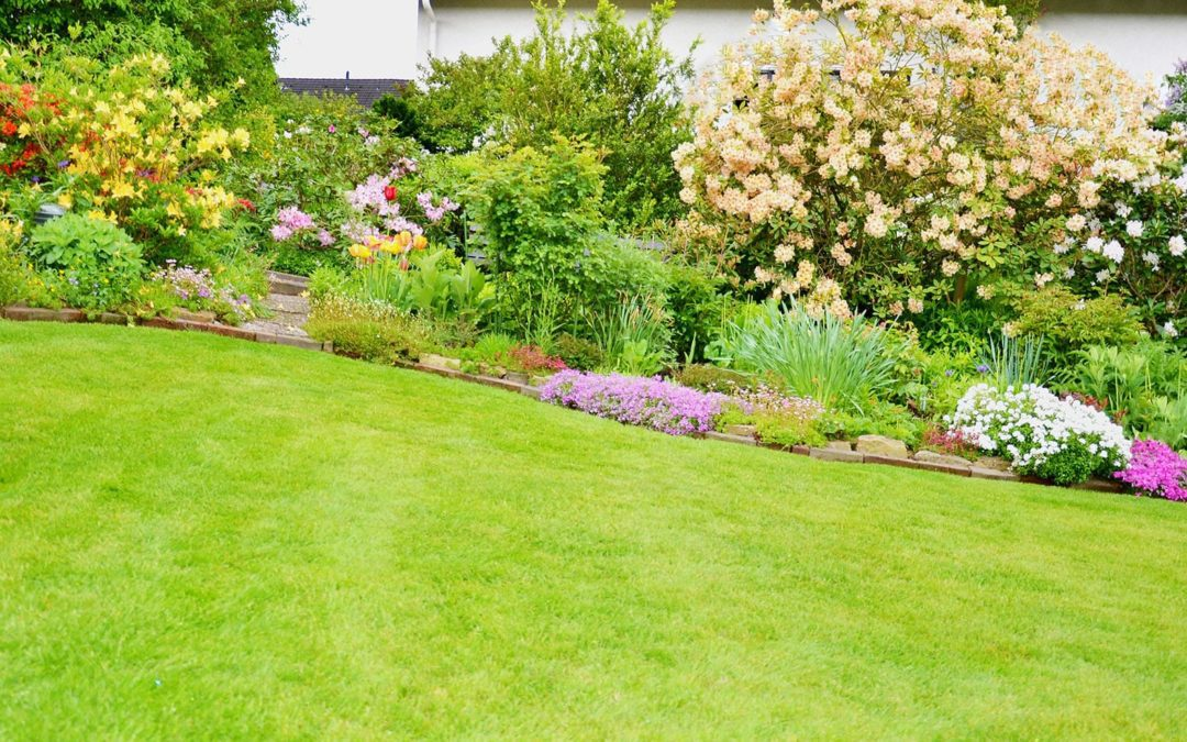 An example of a residential landscaping project.